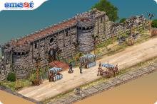 Medieval Market Room Smeet Game