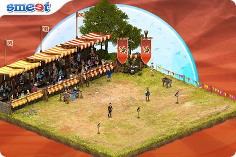 Smeet Room Falconry Show Chat Game