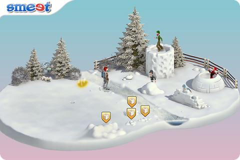 Smeet Room Snowball Fight Contest Chat Game