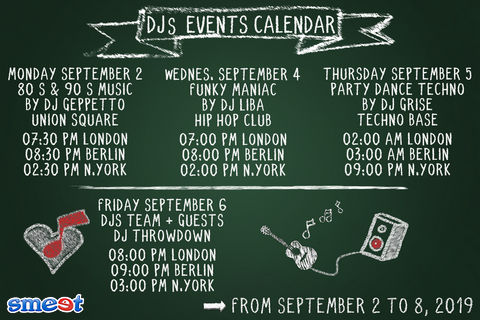 EN Events Schedule 2nd September