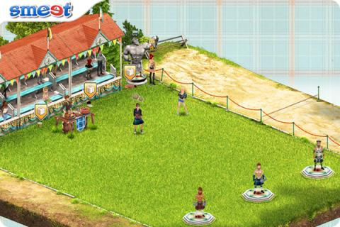 Smeet Room Highland Games Chat Game