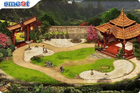 Smeet Room Kasansui Zen Garden Chat Game