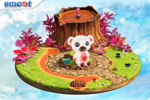 Smeet Room Valentines Island Chat Game