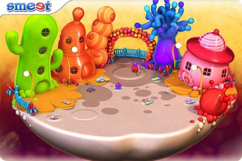 Smeet Room Balloon Land Chat Game