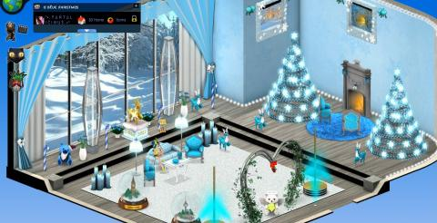 Smeet Christmas Room Contest Winners Chat Game