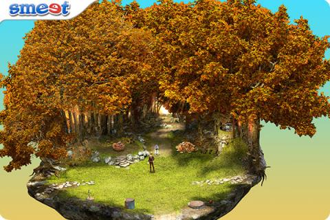 Smeet Room Autumn Artistry Chat Game