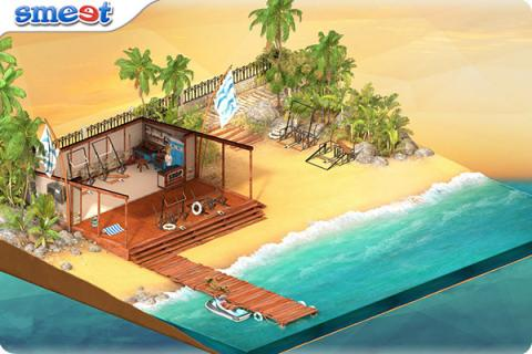Smeet Room Beach Chair Restoration Store Chat Game