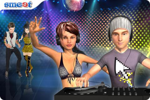 Smeet International DJ Battle Chat Game
