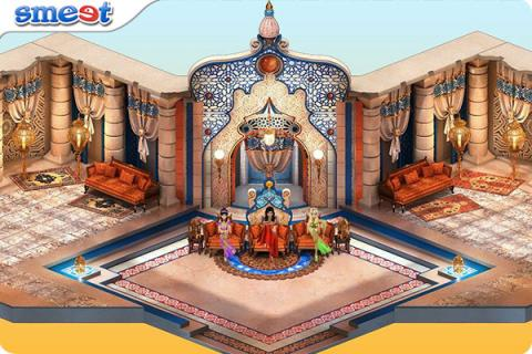 Smeet Room Three Mhyirian Princesses Chat Game
