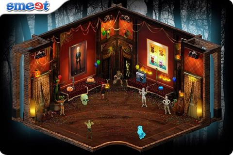 Smeet Room Creepy Monster Party Chat Game