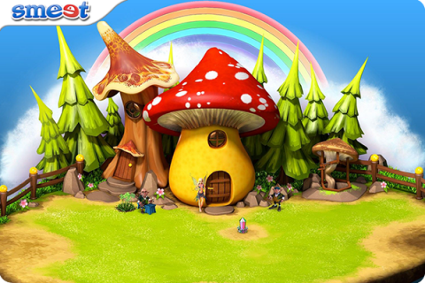 Smeet Room Rainbow Island Chat Game